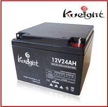 shenzhen vrla rechargeable storage 12v 24ah sealed lead acid battery