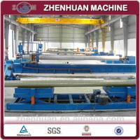 High productivity automatic FRP GRP tank filament making machine