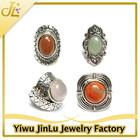 Vintage style girls stone ring