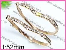 Latest gold with 3 color plating guangzhou earrings long chandelier
