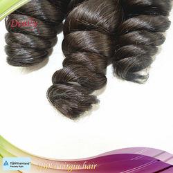 100% raw virgin peruvian hair candy curl peruvian virgin hair extensions