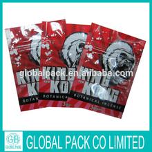 Wholesale King Kong Mylar Herbal Incense Bag 3g 10g/3g 10g Herbal Incense Spice Bag for sale made in china