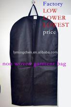 China manufacturing garment stock lotprinted garment bag for men /garment bag/non woven garment bag