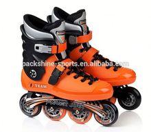 customized flashing girls adjustable inline skate adult shoes