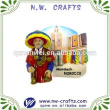 Marrakech Morocco souvenir fridge magnets