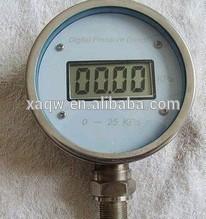 plastic digital u-tube manometer air pressure gauge