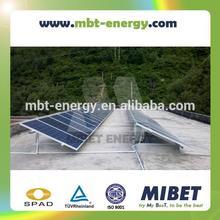 Aluminum Concrete Base Flat Roof/ Rooftop PV Mounting System Tripod Bracket -- MRac Roof Matrix 2