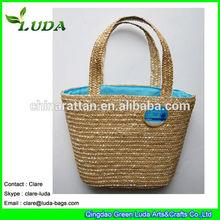 Wheat Straw 2014 Fashion Handbag Beach Bags Child wheat straw bag