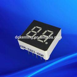0.3 inch two dual double digit 2 mini 7 segments thru- hole led display