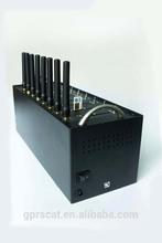 8 sim card slots usb port GSM/GPRS MODEM Wavecom Q2406 module supporting imei change