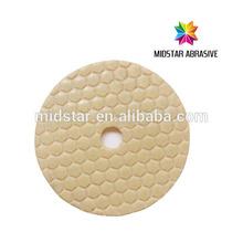 Midstar dry diamond hand polishing pads