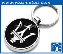 novelty metal locking carabiner keychain keyring