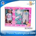 2014 novo item de plástico boneca reborn kits, silicone boneca reborn kit para venda h150202