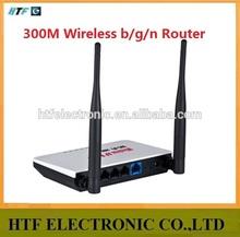 high quality OEM 300M 4 RJ45 Lan+1 Wan port desktop plastic case MINI wireless N thomson virtual wifi Router