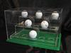 Acrylic Golf Ball Souvenir Display Case