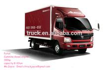 4x2 FOTON Aumark cargo van truck for sale
