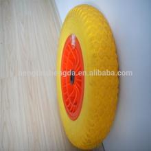 steel wheel rims 16 inch pu foam rubber wheels agricultural tire