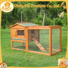Wire Mesh Large Rabbit Hutch Wooden Rabbit Cage Custom Size Pet Cages, Carriers & Houses