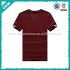 2014 Summer Cheap Quick Dry Asian Size Plain Men T Shirt (lyt-04000284)