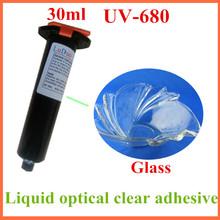 UV-680 UV glass adhesive glue acrylic ester for tea table of handicraft bonding