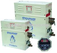 steam turbine powered electric steam generator