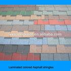 colored fiberglass asphalt shingles for roofing
