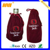 China professional factory produce velvet wine gift bags