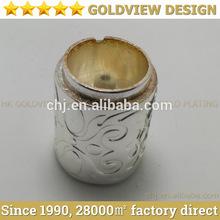 OEM Zinc/aluminum alloy die casting electroplate Wine Bottle Cap, luxury metal wine bottle cap,aluminum foil wine bottle