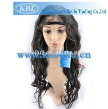 Modern grey hair wigs for women