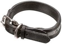 P.U dog collar & leash