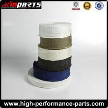 Fiberglass/Ceramic/Titanium Fiber Exhaust Wrap/Thermal Warp High temperature