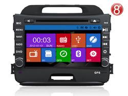 ugode 2013 Kia Sportage Car stereo with built in DVD GPS radio bluetooth USB IPOD TV