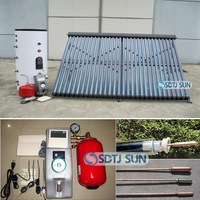 2014 sun home split solar water heater, energy save solar water heater project