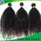 5A grade unprocessed 100 human hair brazilian kinky curly weaving