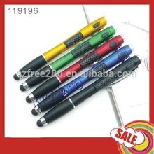 3 in 1 Ballpen+LED Torchlight+Touch Pen for Smartphone/Tablet