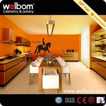 Luxury Modern Metal Kitchen Cabinet