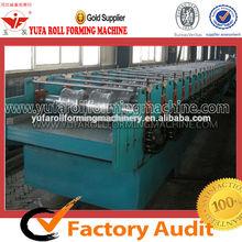 high quality YUFA 510 Floor deck roll forming machine, metal making machine