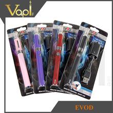 Shenzhen wholesale electronic cigarette evod kits blister vaporizer pens
