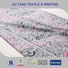 Print waterproof spandex softshell fabrics