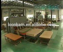 high quality hydraulic hot press melamine laminating machine/hydraulic hot press machine/short cycle melamine press machine