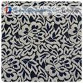 alta qualidade personalizado concha tecido laço doilies tela do laço preto e branco de tecido do laço para mesa