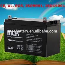 Reliable Quality golf trolley battery golf car battery 12v golf cart batteries 90Ah