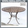 de aluminio mesa al aire libre