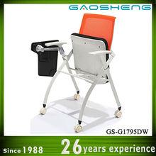 unique stackable training chairs GS-G1795DW for sale