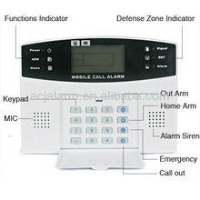 GSM alarm system 99 wireless zones 8wired home burglar security wireless home alarms