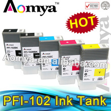 For Canon iPF710 ink cartridges PFI 102 compatible ink cartridge