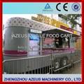 rebocado para veículo móvel alimentos concessão trailer