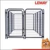 5x10x4ft Hot sale outdoor black heavy duty dog kennel