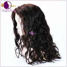 Real human hair u part wig chinese virgin hair full lace wig