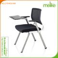 Kama malha de volta quatro pernas de mesa de treinamento cadeira C10-MCA-NM